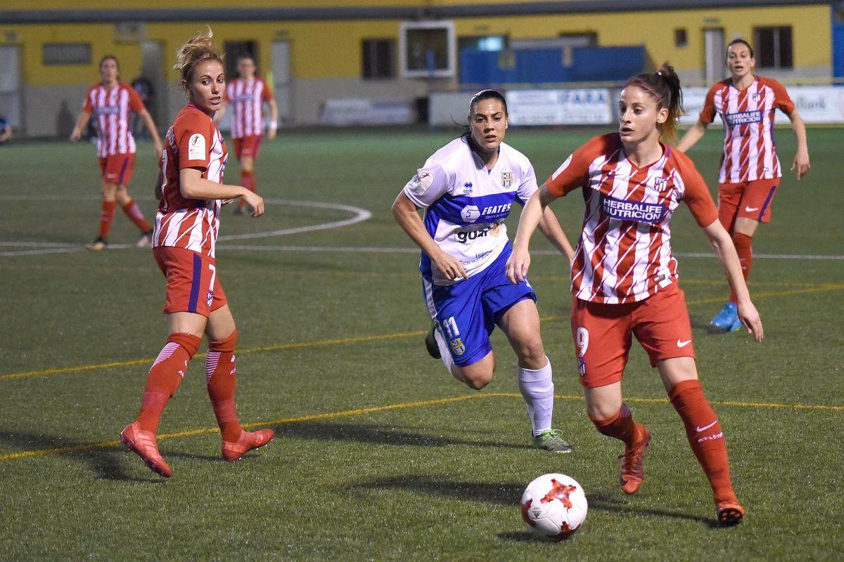 La UD Granadilla Tenerife Egatesa recibe este domingo en La Palmera al líder invicto Atlético de Madrid
