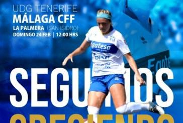 UD Granadilla Tenerife Egatesa- Málaga CFF, este domingo a las 12:00 horas en el campo de La Palmera