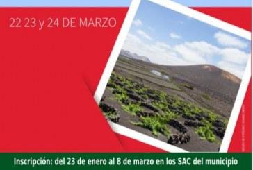 El plazo para inscribirse a la actividad 'Nos vamos a Lanzarote', a celebrar del 22 al 24 de marzo, finaliza este viernes