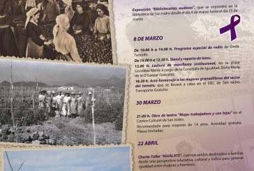 Actividades de este viernes con motivo del 'Día Internacional de las Mujeres'