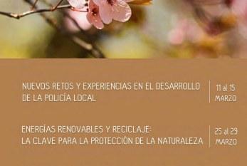 El curso 'Energías Renovables y Reciclaje: La Clave para la Protección de la Naturaleza' de la primera edición de los 'Cursos de Primavera Granadilla de Abona' de la UNED, del 25 al 29 de marzo en el SIEC