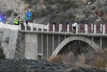 Evitan el suicidio de un hombre en el puente de la TF-28 del barranco de la Orchilla