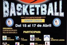 El 'III Torneo Nacional Junior Villa de Granadilla' de baloncesto, hasta este miércoles