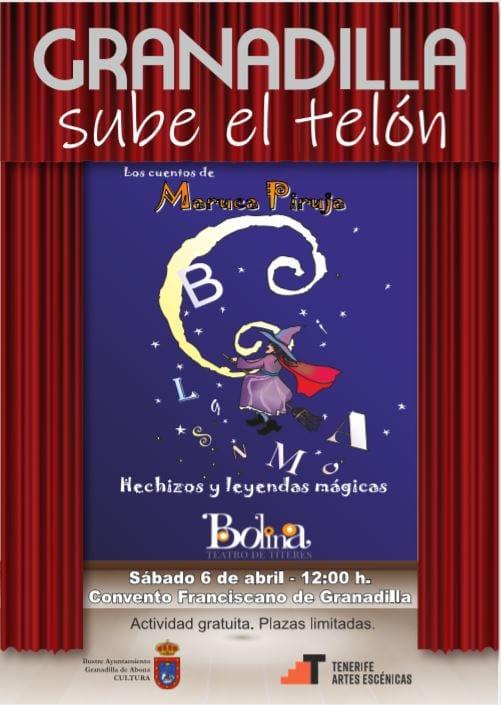 La obra 'Hechizos y Leyendas Mágicas', este sábado en el Casco