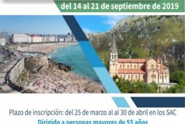 El plazo de inscripción al 'Viaje al norte de Galicia y Asturias' para mayores de 55 años a realizar entre el 14 y el 21 de septiembre finaliza este martes 30 de abril