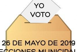 Las 7 'listas electorales' de las candidaturas que se presentan a las elecciones municipales del próximo 26 de mayo en Granadilla de Abona