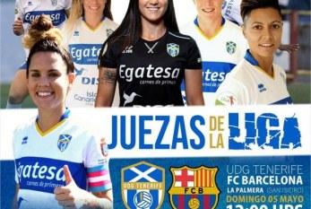 La guinda a una extraordinaria temporada: UD Granadilla Tenerife Egatesa – FC Barcelona, este domingo a las 12:00 horas en La Palmera