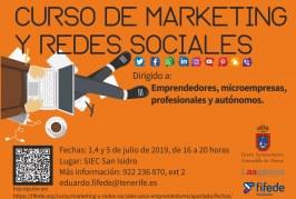 El plazo para inscribirse al curso 'Marketing y Redes Sociales' finaliza este jueves