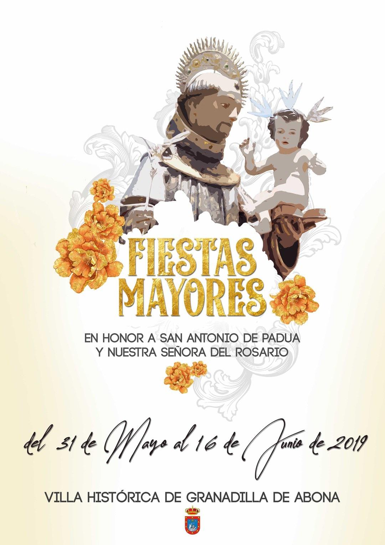 Las 'Fiestas Mayores en honor a San Antonio de Padua' 2019, del 31 de mayo al 16 de junio