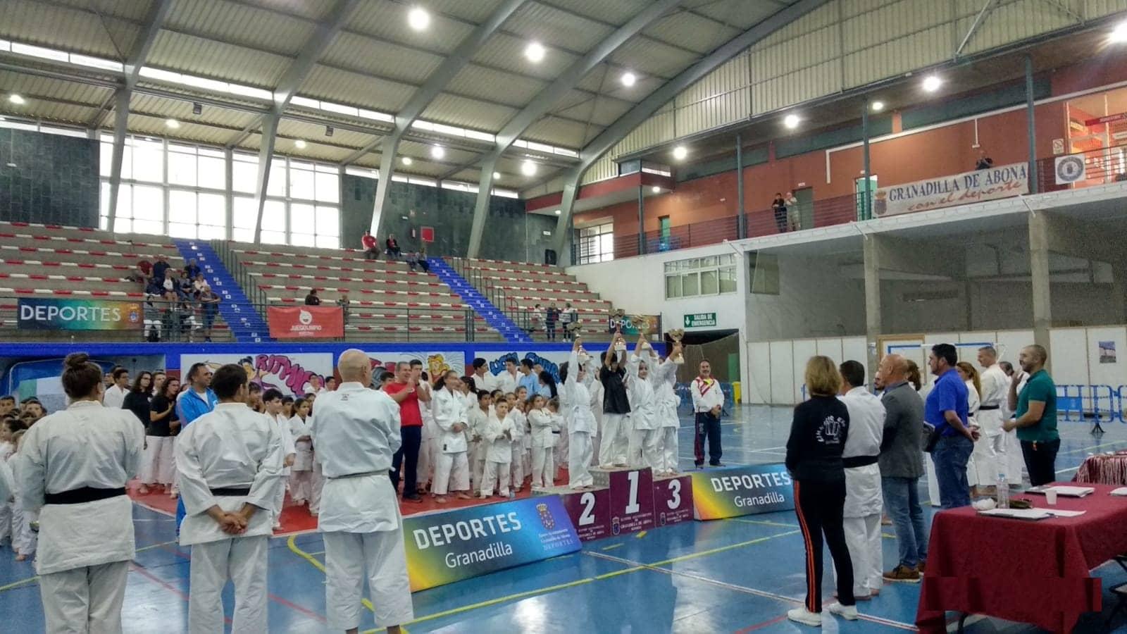 El 'Encuentro de Kárate Granadilla 2019' reunió a 180 deportistas