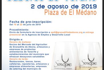 La pre-inscripción para participar en el evento enogastronómico 'Sensaciones Sabores de Verano' finaliza este lunes 22 de julio