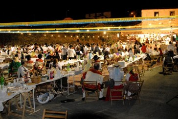 Charco del Pino en plena celebración de sus fiestas en honor a su patrón San Luis Rey de Francia