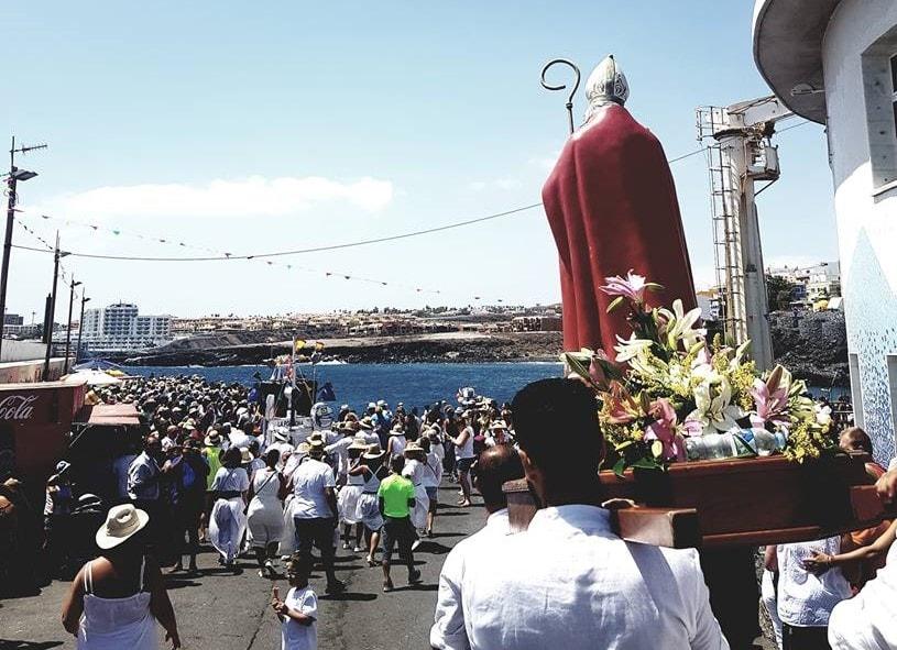 Los Abrigos en plena celebración de sus 'Fiestas en honor a San Blas'