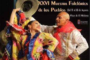 La 'Muestra Folklórica de los Pueblos', desde este jueves hasta el próximo domingo en El Médano dentro de la programación de 'Sansofé 2019'
