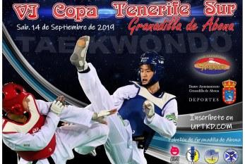 La 'VI Copa Tenerife Sur' de Taekwondo, este sábado en el Pabellón Municipal de Deportes
