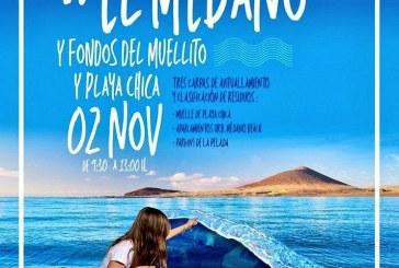 'Actuación de Limpieza del Litoral de El Médano' este sábado por la mañana
