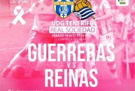 La UD Granadilla Tenerife Egatesa busca su primera victoria en casa este sábado ante la Real Sociedad
