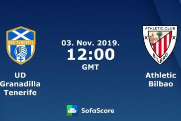 UD Granadilla Tenerife Egatesa – Athletic de Bilbao, este domingo en La Palmera