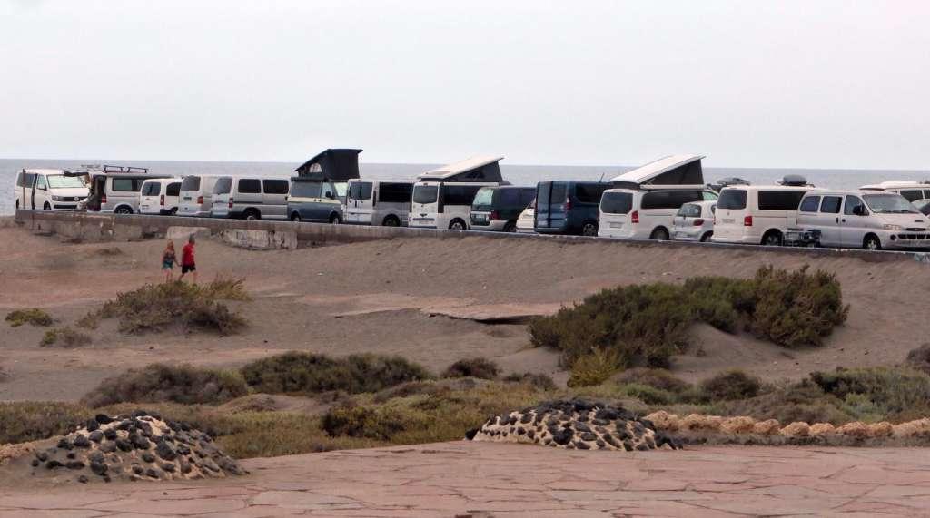 Portada de: Ciudadanos pide que se regule la presencia de caravanas en Granadilla de Abona