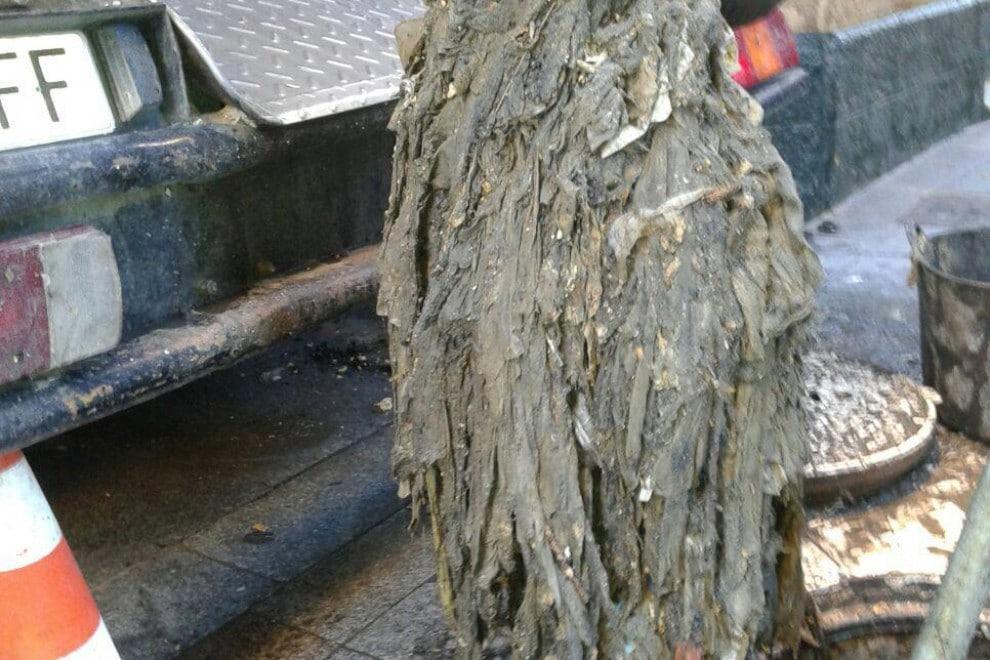 Toallitas extraídas de alcantarillas. / ARCHIVO