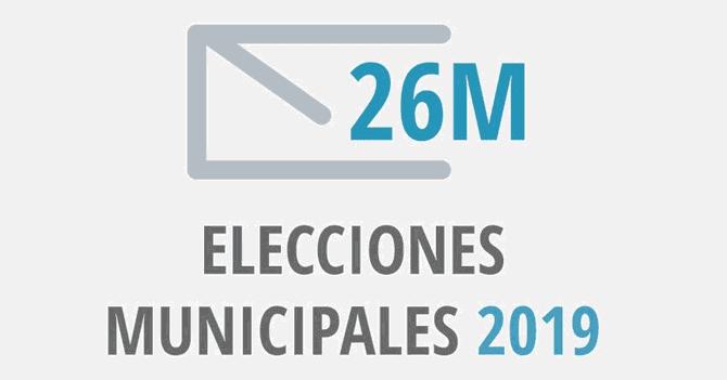 Resultado de imagen de elecciones municipales 2019