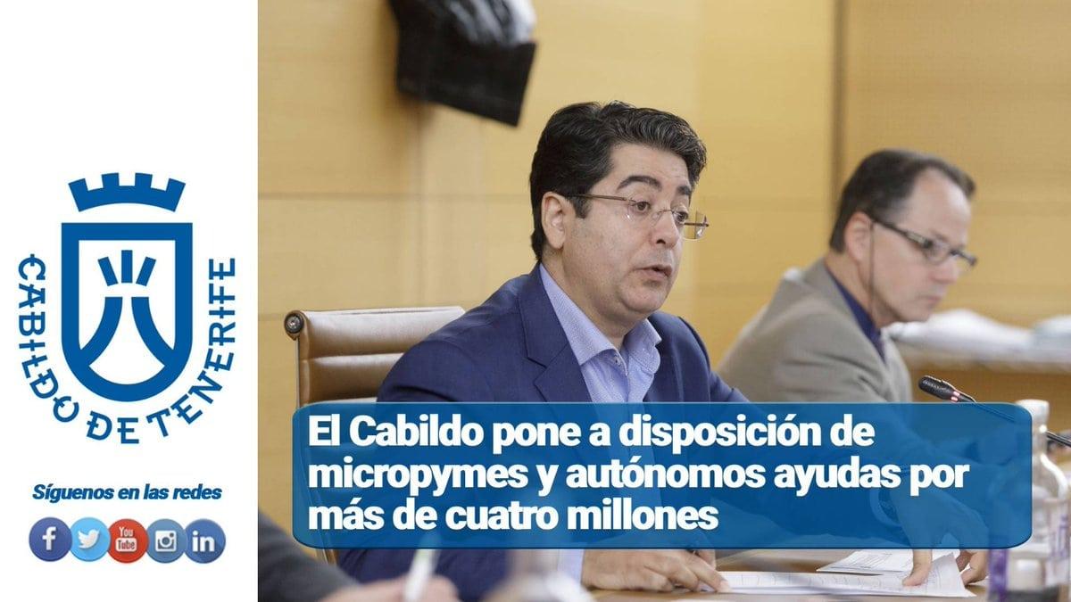"Cabildo de Tenerife on Twitter: ""📈 Ya se pueden solicitar las ..."