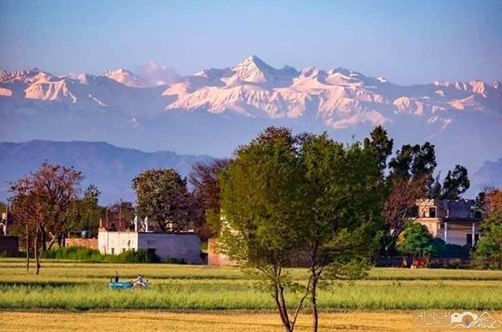 Se ve el Himalaya desde la India por primera vez en 30 años