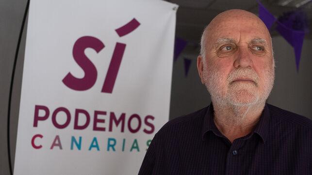 Manuel Marrero, candidato de Sí Podemos Canarias a escaño en el Parlamento regional por la isla de Tenerife
