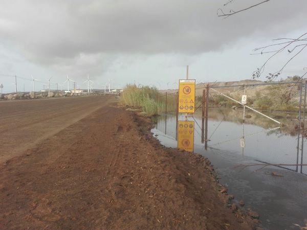 Vertidos incontrolados de aguas fecales en el Polígono Industrial ...