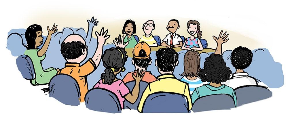 Resultado de imagen de participación ciudadana municipio la voz de todos