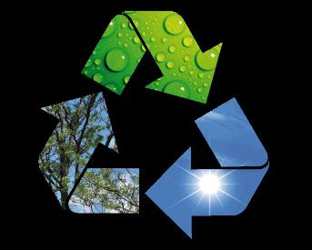 Resultado de imagen de energías renovables y reciclaje